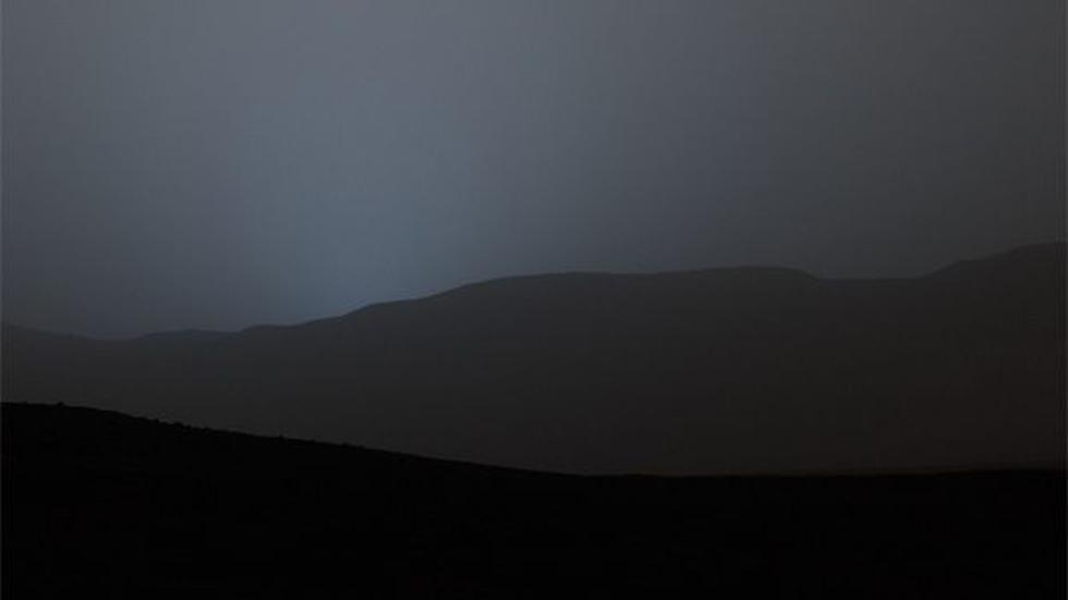 El inesperado atardecer azul en Marte - 6