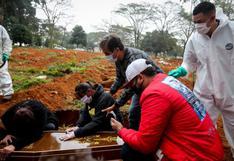 Brasil registra 829 muertes por coronavirus en 24 horas y total llega a 134.935