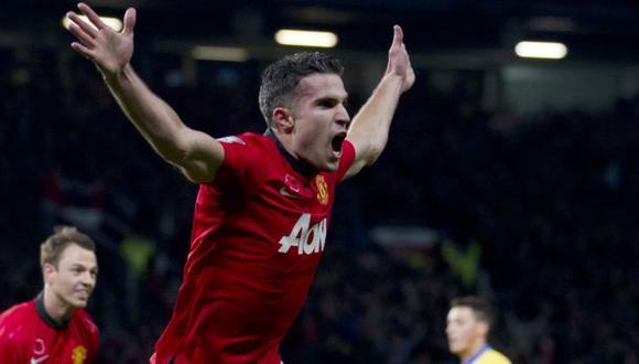 Manchester se reencuentra con Van Persie y recuerda sus goles