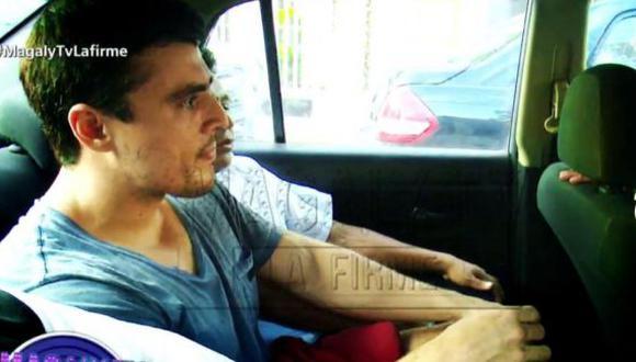 Álvarez Noval se encontraba detenido en la Fiscalía de Miraflores. (Foto: Captura/ATV)