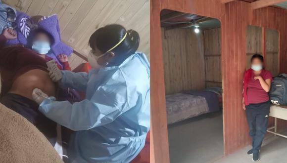 El pasado 23 de febrero se alojó la primera gestante en la casa materna, se trata de una menor de 16 años que viene recibiendo atención (Foto: Gore La Libertad)
