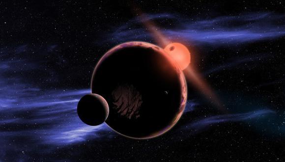 Representación artística del sistema planetario GJ 273. (Foto: NASA)