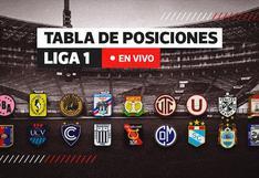 Tabla de posiciones Liga 1 EN VIVO: así va el Torneo Apertura tras la victoria de Universitario