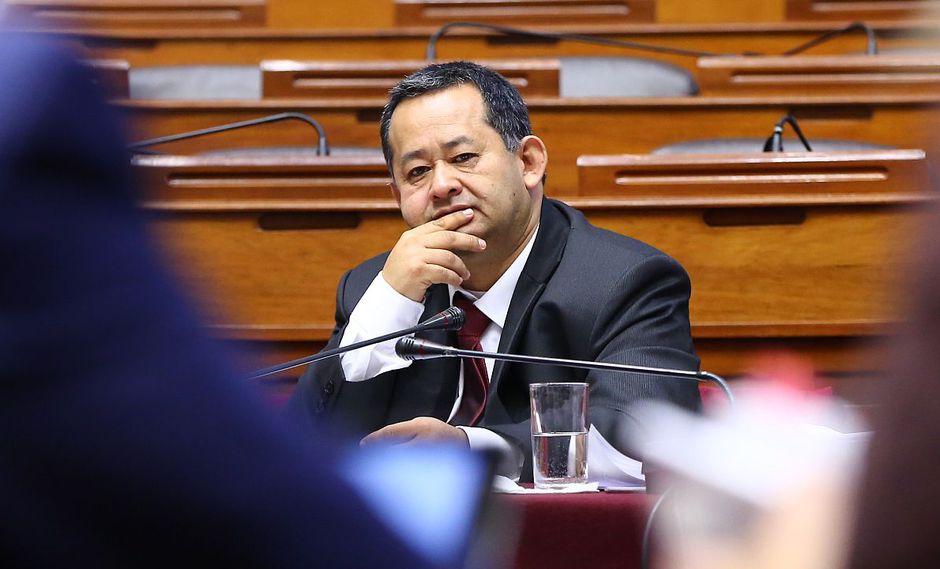 """El congresista Bienvenido Ramírez calificó el informe aprobado por la Subcomisión de Acusaciones Constitucionales como """"trucho"""". (Foto: Juan Ponce / Video: Congreso de la República)"""