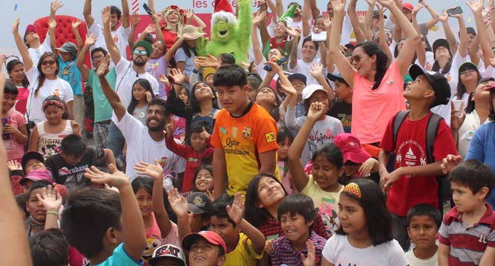 Para Julio, la Navidad significa amor por el prójimo. Y eso es lo que busca transmitir. (Foto: Difusión)