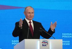 Putin promete a los rusos miles de millones de rublos antes de las legislativas