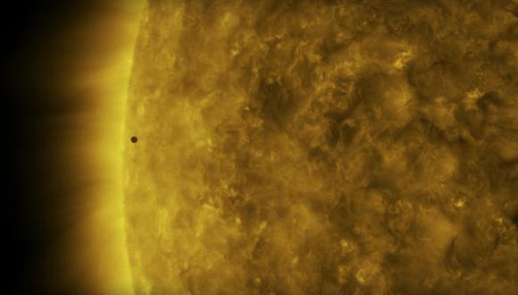 Otro tránsito de Mercurio no sucederá hasta el 2032. (Foto: NASA)