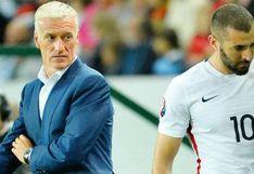 """Deschamps descartó posible retorno de Benzema a Francia: """"Su presencia no sería buena para la selección"""""""