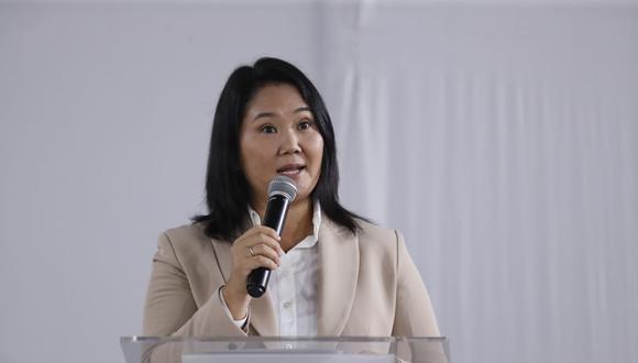 """Fujimori volvió a hablar de un presunto fraude y dijo que este """"se habría financiado"""" con Los Dinámicos. (Foto: Hugo Pérez)"""