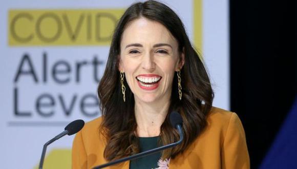 Jacinda Ardern, la primera ministra de Nueva Zelanda. (Getty Images).