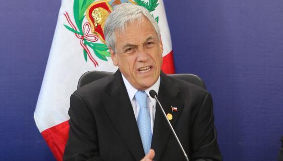 Sebastián Piñera insiste en que triángulo terrestre es chileno