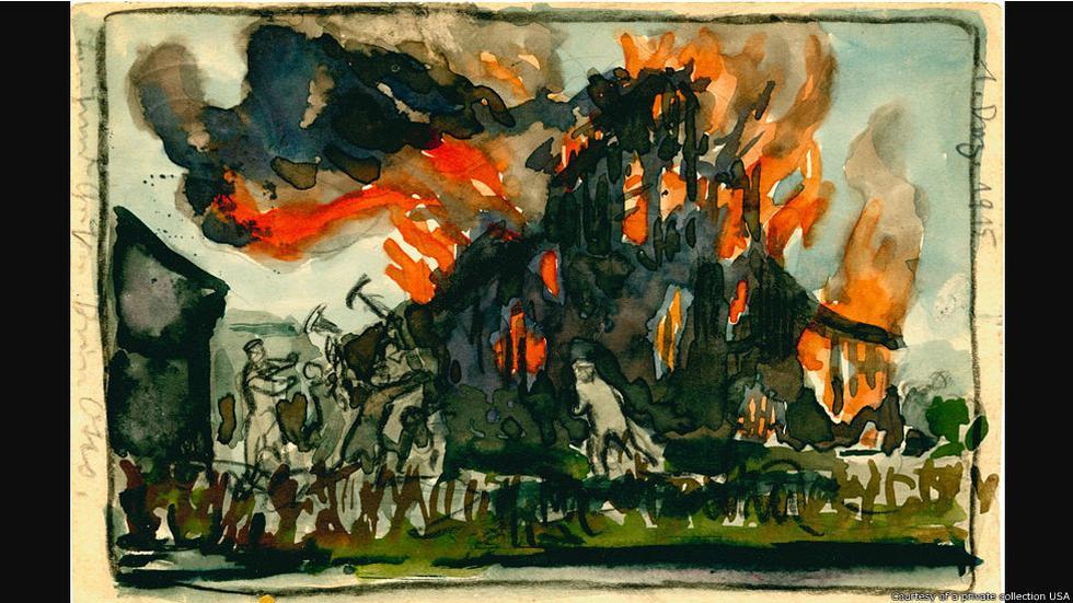 Arte desde las trincheras de la Primera Guerra Mundial en fotos - 2