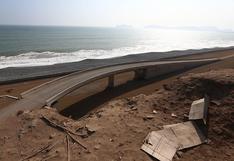 Costa Verde del Callao: obras continúan abandonadas