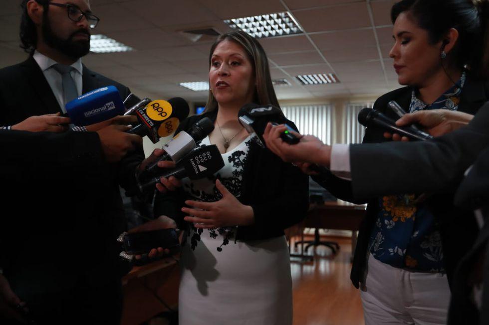 Vilcatoma, de Fuerza Popular, dirige este grupo encargado de la investigación. (Foto: Lino Chipana / GEC)