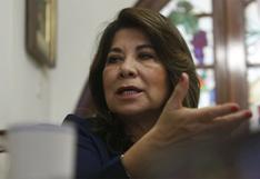 Senadora de Bolivia indignada por expresiones de Martha Chávez