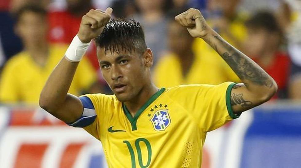 Neymar entrenó con Brasil para duelo con Argentina tras sanción - 2