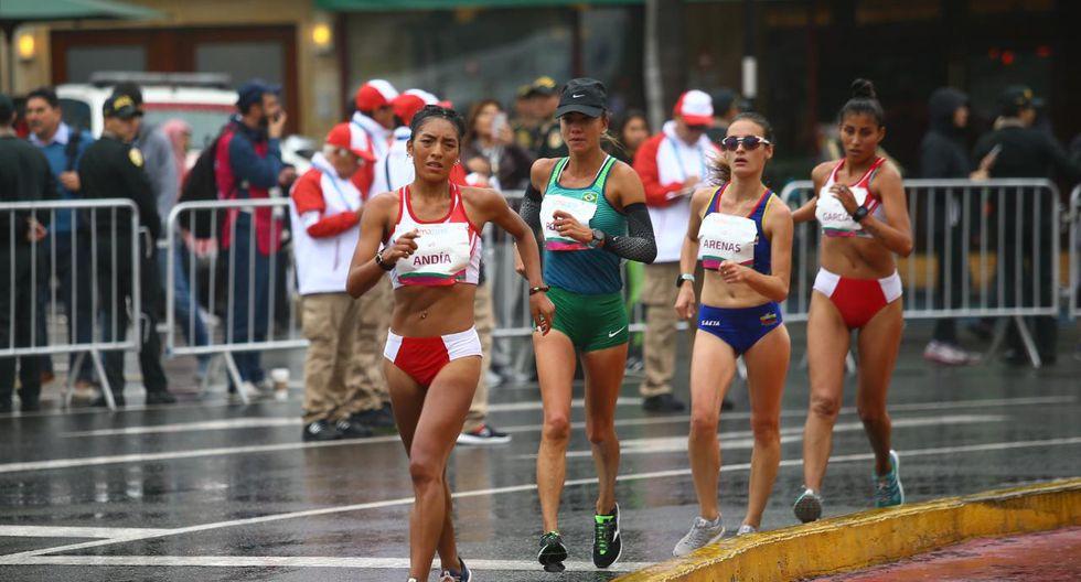 Kimberly García obtuvo la medalla de plata en marcha femenina en Lima 2019 | Foto: GEC