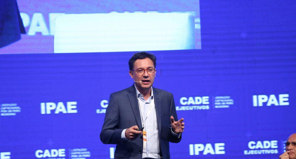 Aldo Aranzaens, presidente de la Cámara de Comercio e Industria de Arequipa en CADE Ejecutivos 2018. (Foto: IPAE)