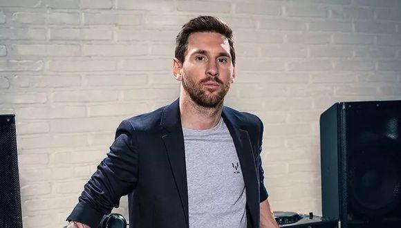 En setiembre de este año, Lionel Messi lanzó su nueva marca de ropa.