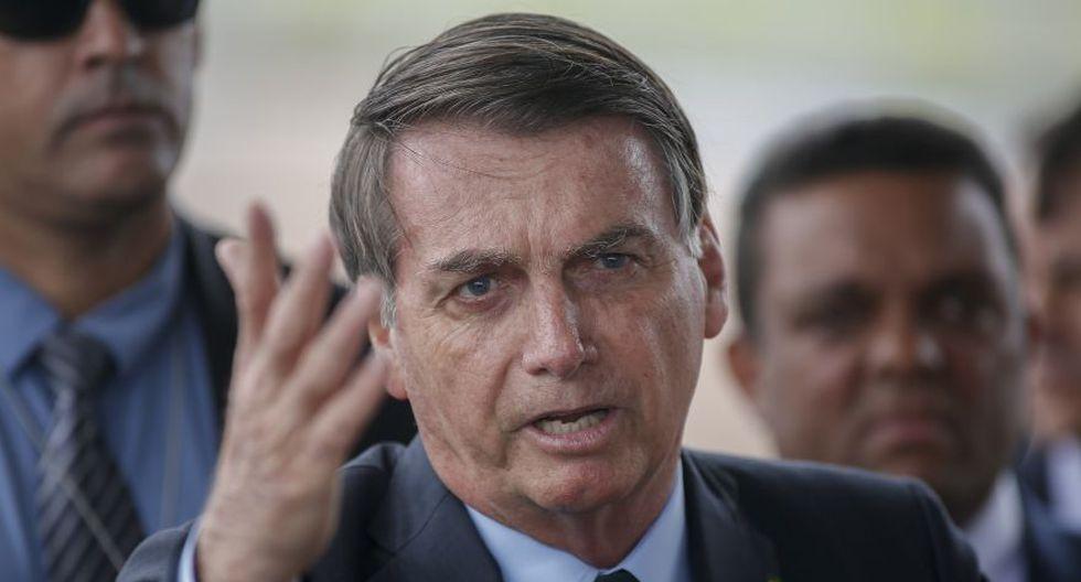 """Jair Bolsonaro sostuvo anteriormente que las reservas indígenas son demasiado grandes y que su gobierno quiere permitir la minería comercial y la agricultura en estos lugares. También ha dicho que los indios viven como """"animales en zoológicos"""". (Foto: AFP/Archivo)."""