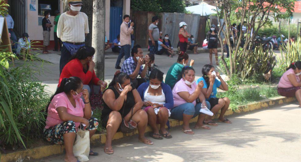 Coronavirus en Perú: se reporta nuevo caso, largas colas en bancos y motos informales en Madre de Dios. (Foto: Manuel Calloquispe)