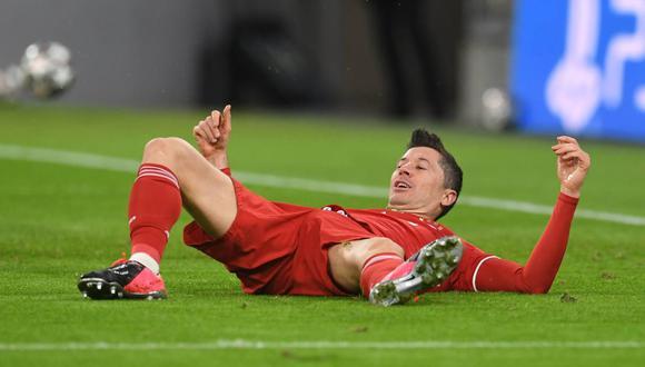 Robert Lewandowski se perderá los partidos contra PSG en la Champions League. (Foto: Reuters)
