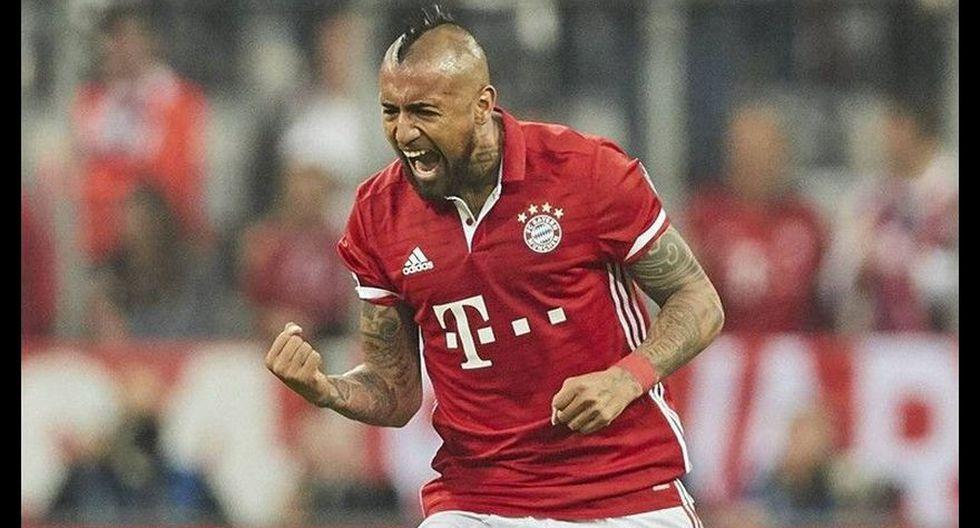 Arturo Vidal llegó al Bayern Múnich por 37.5 millones de euros en 2015. (Foto: agencias)
