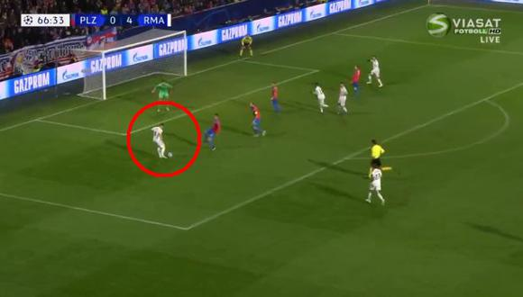 Toni Kroos anotó el quinto gol del Real Madrid con una exquisita definición | Foto: captura