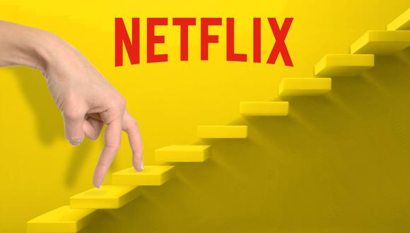 Pasos para llegar a Netflix. (Diseño: El Comercio)