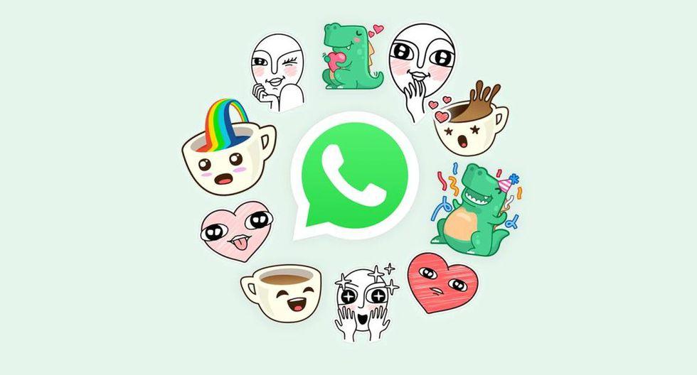 Los stickers ponen el toque divertido dentro de los chats. (Foto: WhatsApp)