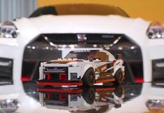 Lego sorprende con versión a escala del Nissan GT-R NISMO   FOTOS