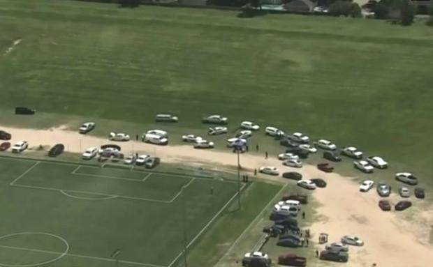 A man murdered his ex-wife and her boyfriend on the grounds of the Matías Almeyda Academy in Texas.
