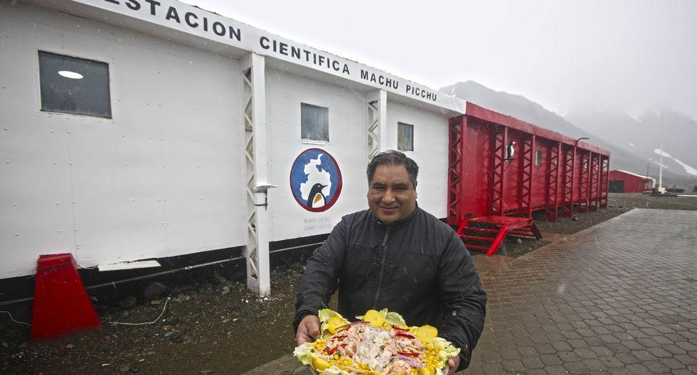 Aldo Saavedra, el cocinero de la Antártida