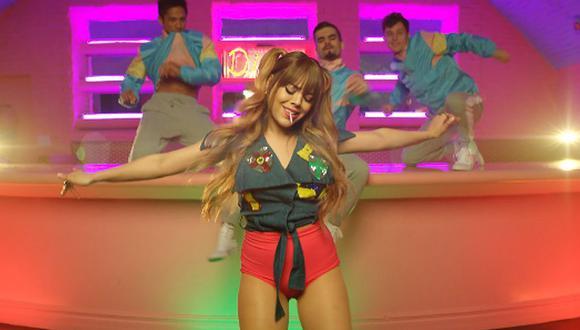"""Danna Paola alcanzó la fama internacional gracias a su papel de Lucrecia en la serie """"Elite"""" (Foto: Captura de YouTube)"""
