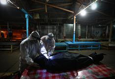 Coronavirus: el silencioso y arriesgado trabajo de la brigada humanitaria que recoge cadáveres en Loreto | FOTOS Y VIDEO