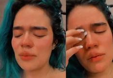 """Karol G entre lágrimas agradece a sus fans por el éxito de su carrera: """"No me lo creo""""   VIDEO"""