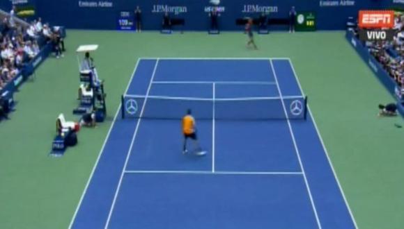 Del Potro vs. Nadal EN VIVO ESPN: el primer gran punto zurdazo del español    VIDEO   US Open 2018   VIDEO: ESPN