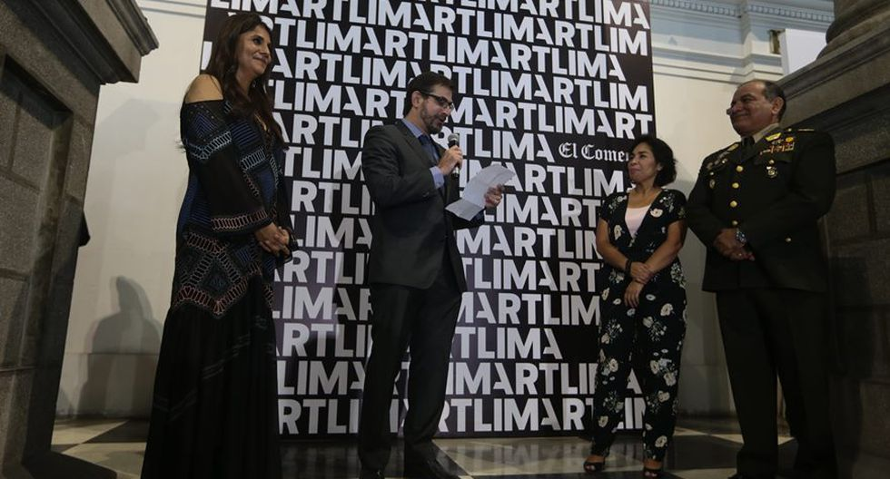 Art Lima 2018. (Foto: Alessandro Currarino/ El Comercio)