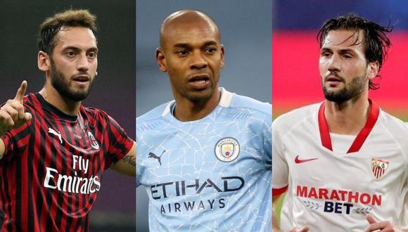 Calhanoglu, Fernandinho y Vázquez figuran en la lista de posibles fichajes del Barcelona.