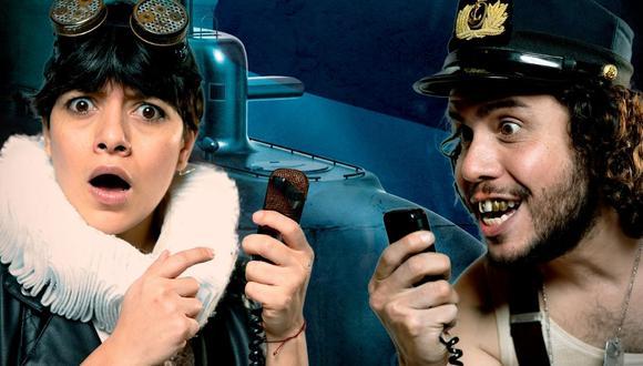 Submarinos es una obra protagonizada por Jely Reátegui y César García. (Fotos: Difusión / DMGCOMUNICACIONES).