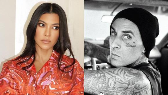 Kourtney Kardashian se habría dado una nueva oportunidad en el amor con el baterista Travis Barker. (Foto: @kourtneykardash/@travisbarker)