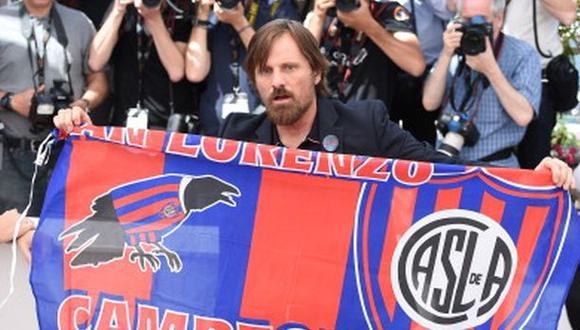 Viggo Mortensen vivió así la final de la Copa Libertadores