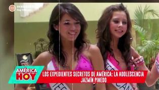 Descubren fotos inéditas del antes y después de Jazmín Pinedo