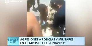 Coronavirus en Perú: Policías son agredidos por personas que no acatan el aislamiento social