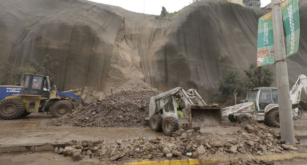 Deslizamiento en la Costa Verde se produjo el jueves 8 de agosto, a pocos días de acabar las competencias por los Panamericanos 2019. (Foto: GEC)