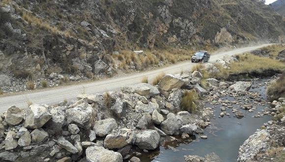 La carretera que une Jauja y Tarma. (Foto: MTC)