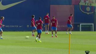 Barcelona se entrena para romper ante el Levante la racha de empates en LaLiga