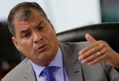 Correa cuestiona paralización de construcción de muro en frontera con Perú