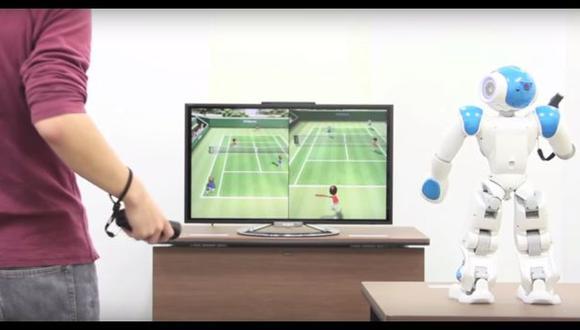 Enfréntate a este robot en una partida de videojuegos [VIDEO]