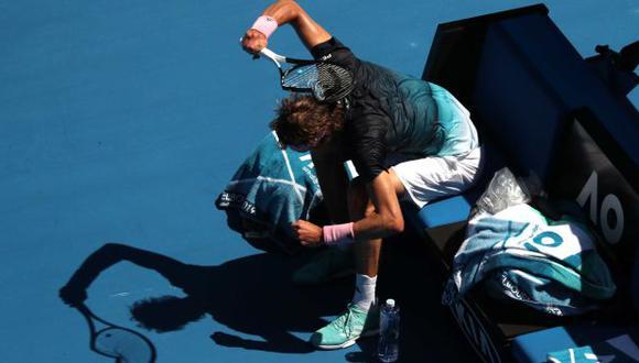 Alexander Zverev perdió en octavos de final y le dijo adiós al Australian Open. (Foto: Reuters)